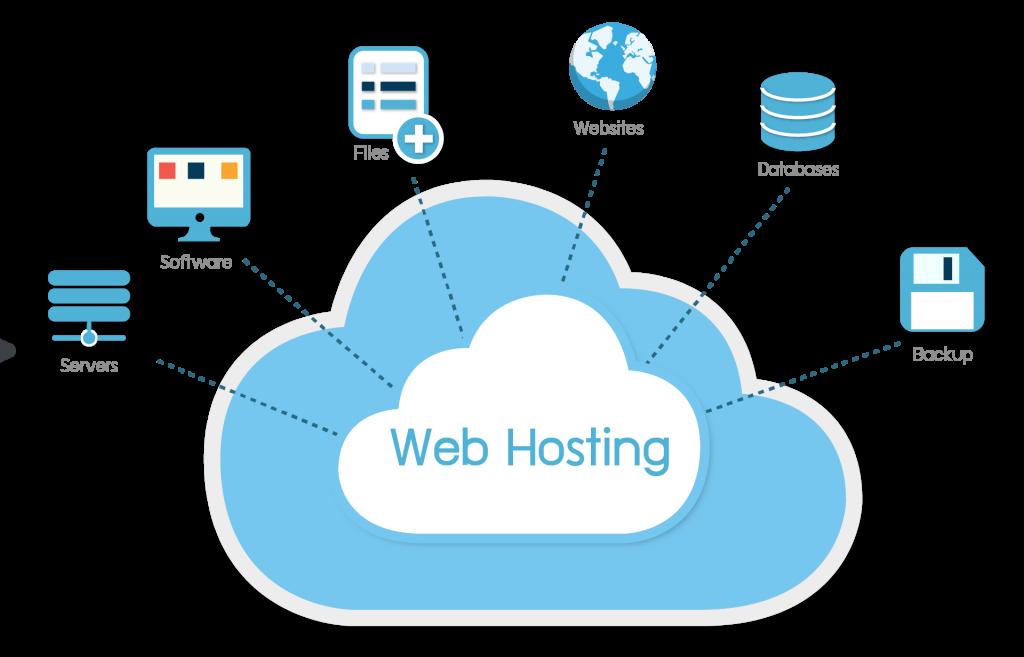 Veb saytların hazırlanması, Hosting yaratdığınız veb faylların yerləşdirildiyi server